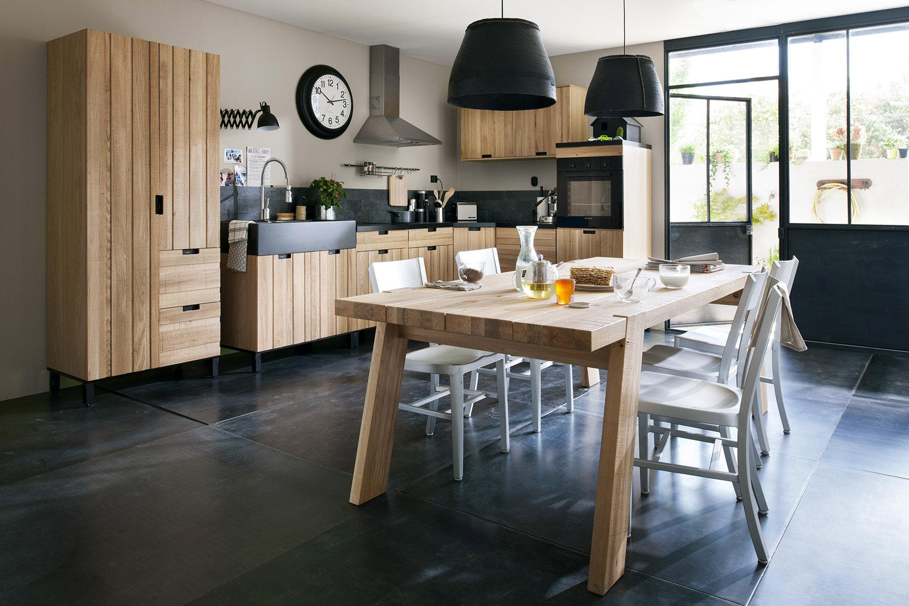 Дизайн кухни 20 кв м из массива