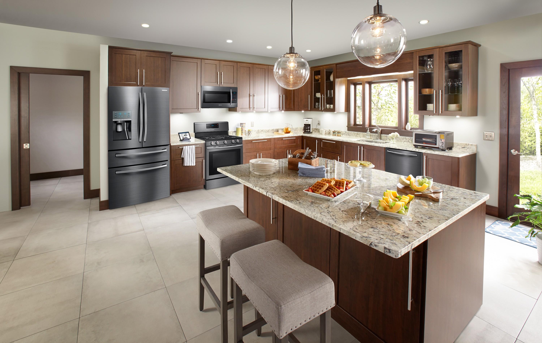 Дизайн кухни 20 кв м МДФ