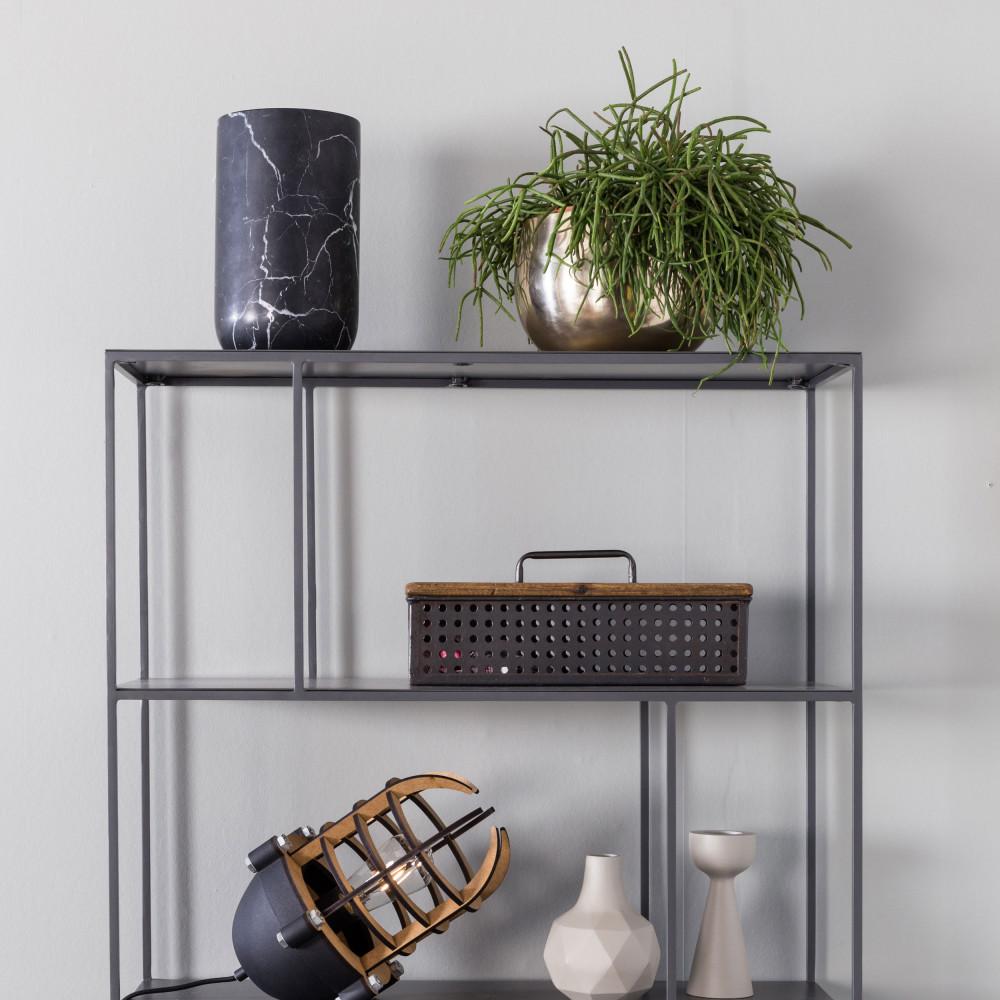 Стеллаж для гостиной в стиле минимализм