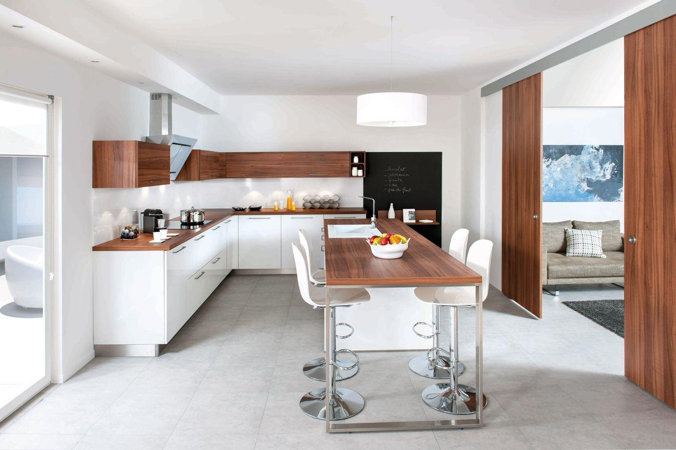Дизайн кухни 20 кв м в стиле модерн
