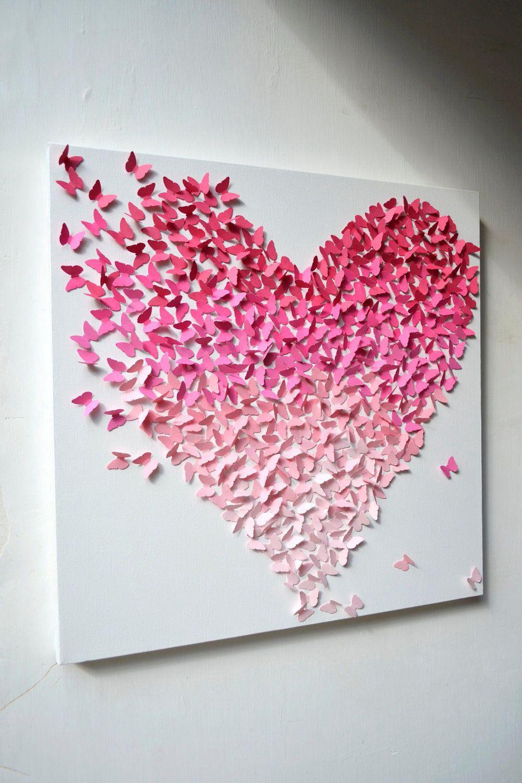 Оригами бабочки для декора