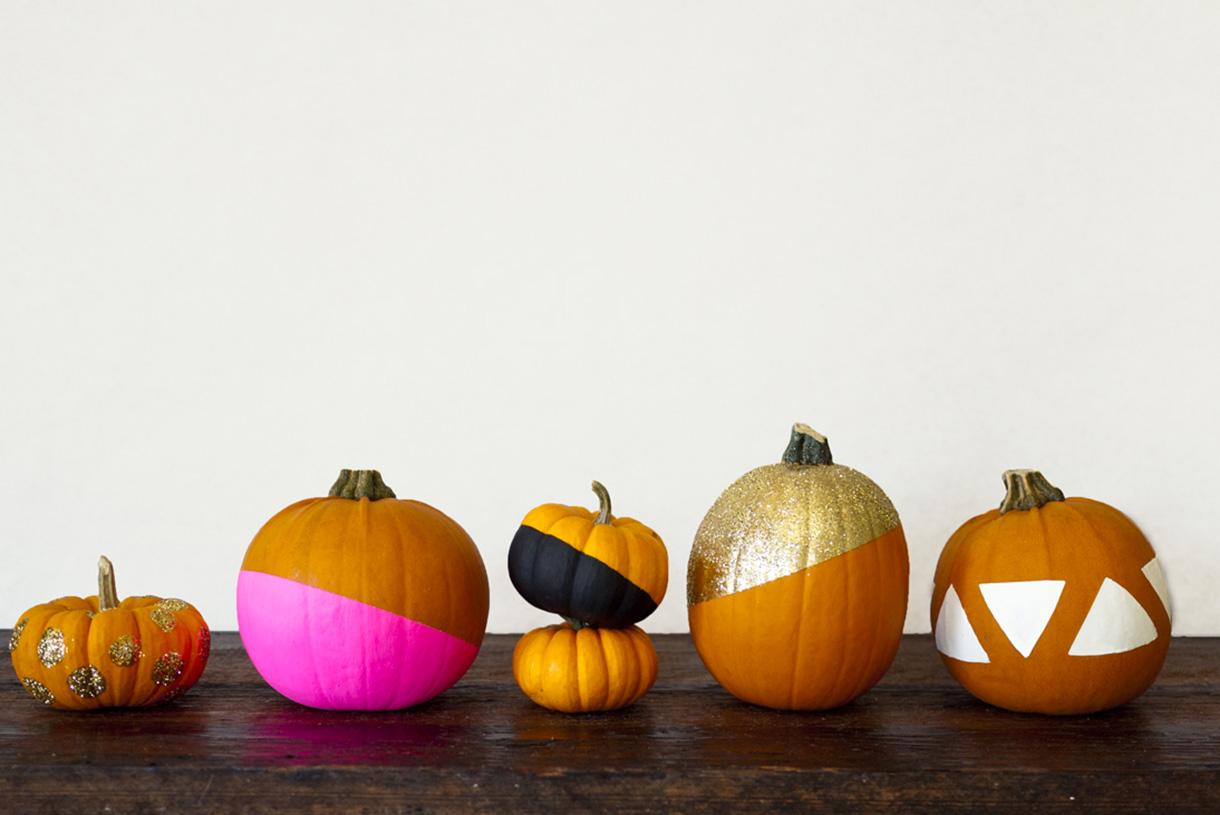 Рисунки на тыкве на хэллоуин