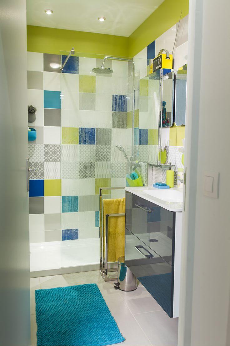 Дизайн плитки в ванной 9 кв. м