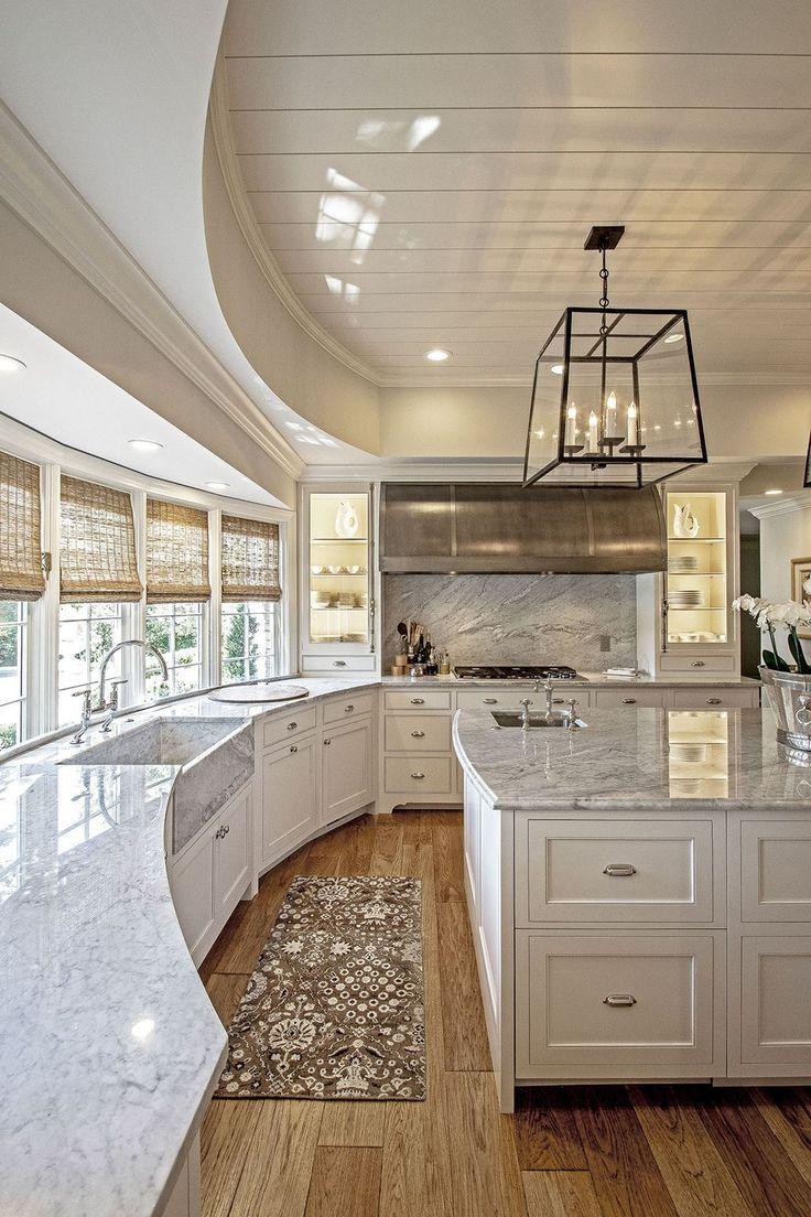 Дизайн кухни 20 кв м полукруглой