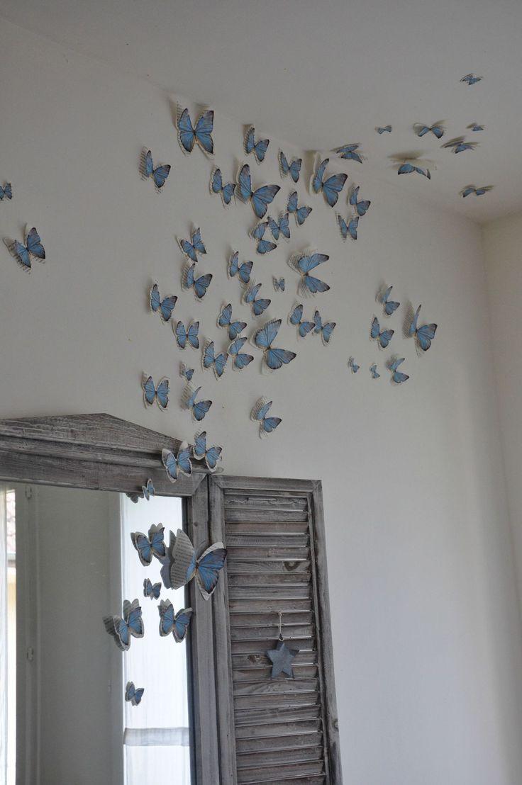 Бабочки для декора в стиле прованс