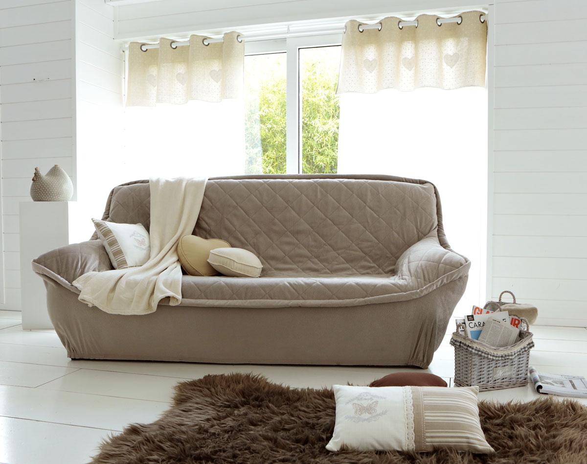 Чехол с резинкой на диван