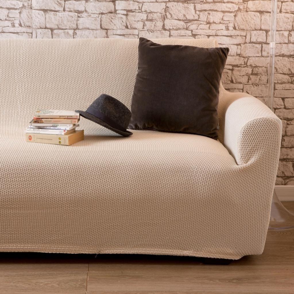 Чехол на диван под рогожку