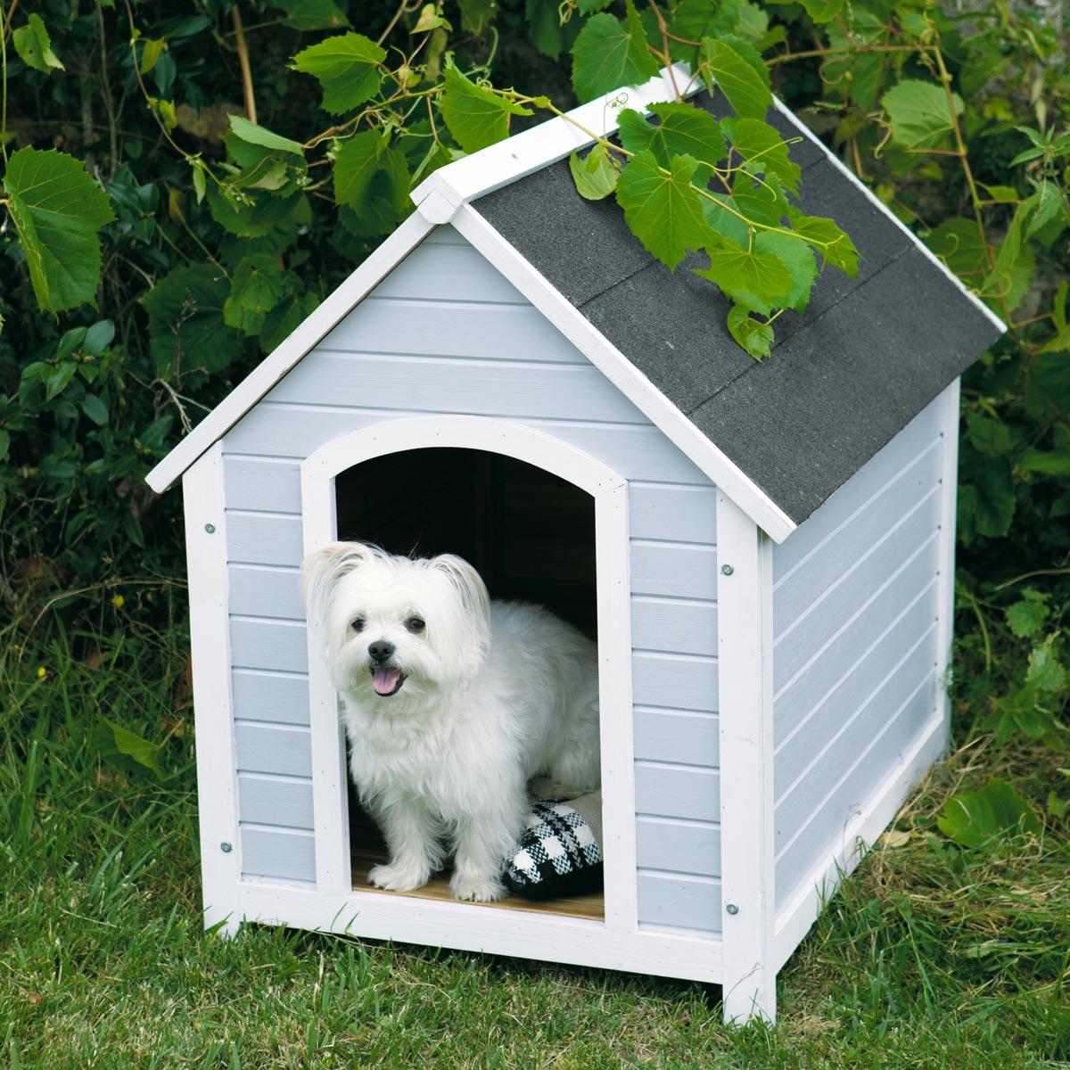 Будка для собаки из сайдинга