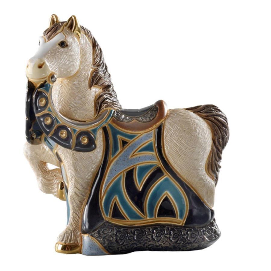 Статуэтка лошадь для интерьера