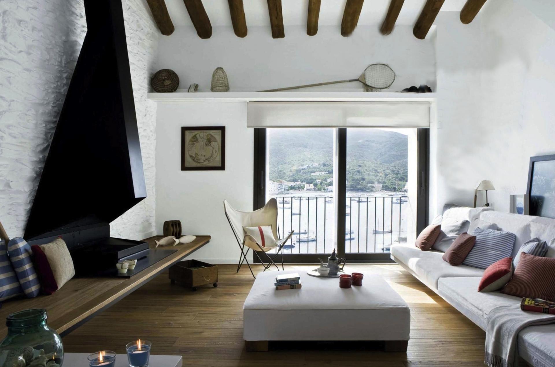 Шведский стиль в интерьере гостиной