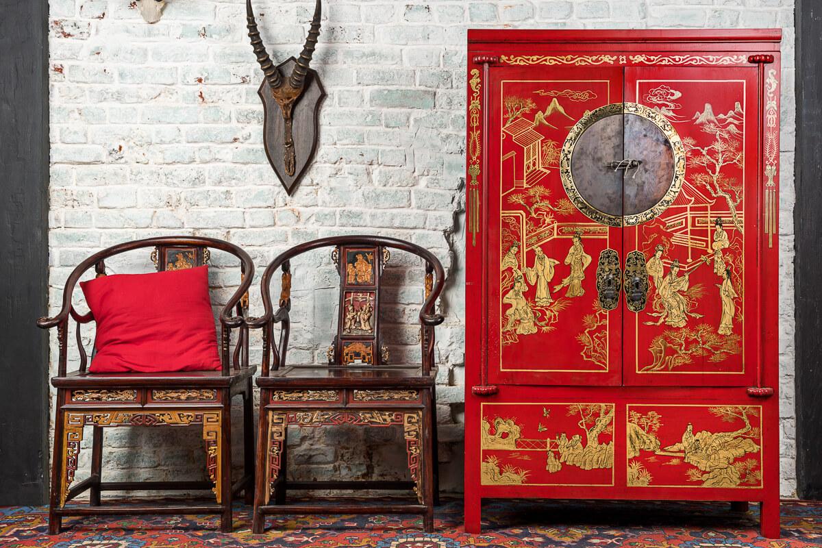 Китайский стиль мебели в интерьере