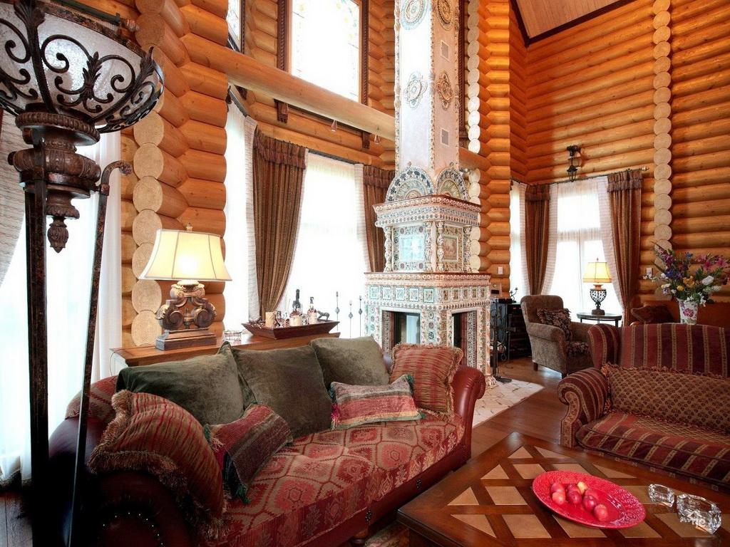 Русский стиль мебели в интерьере