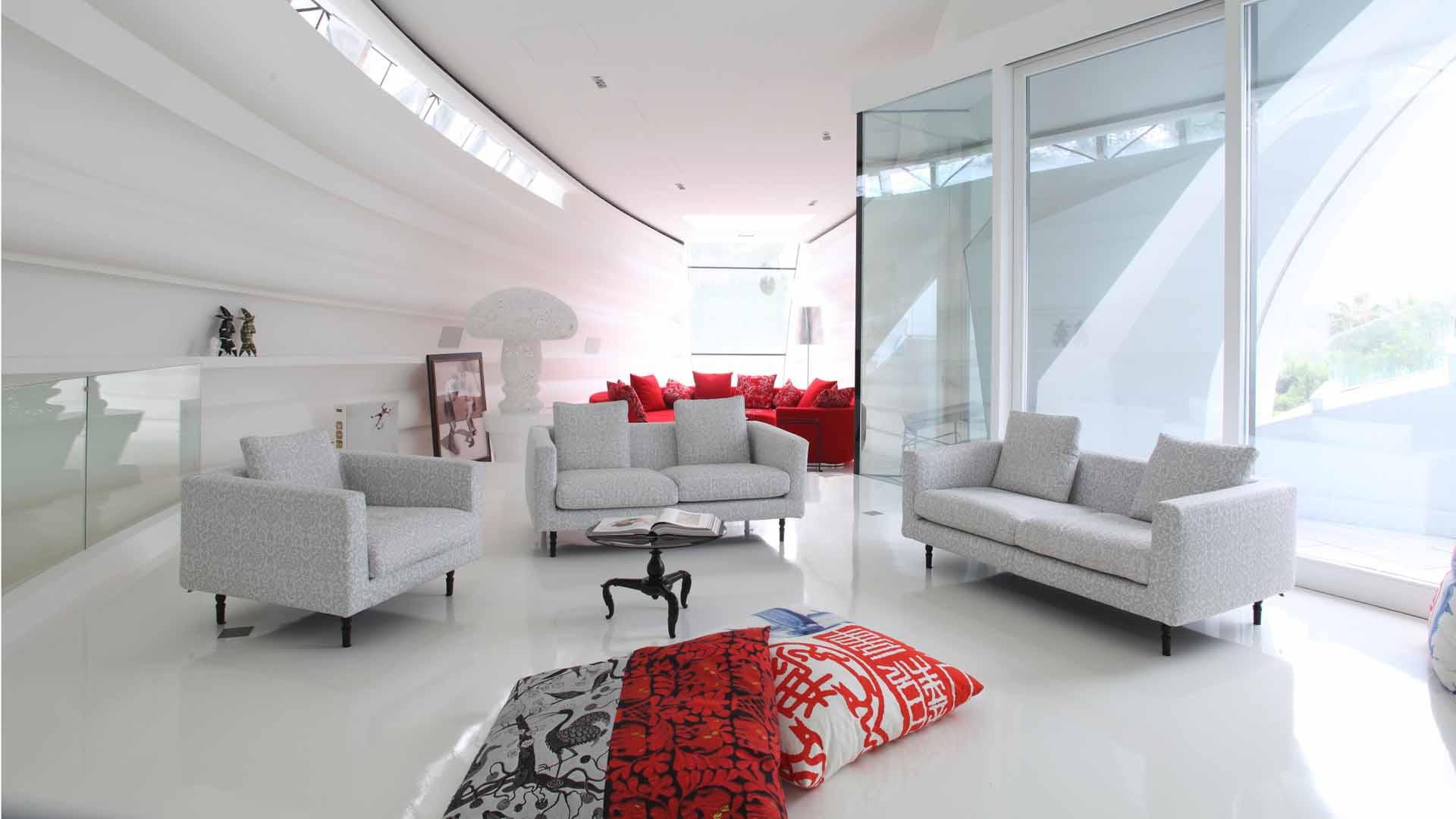 Футуристичный стиль мебели в интерьере