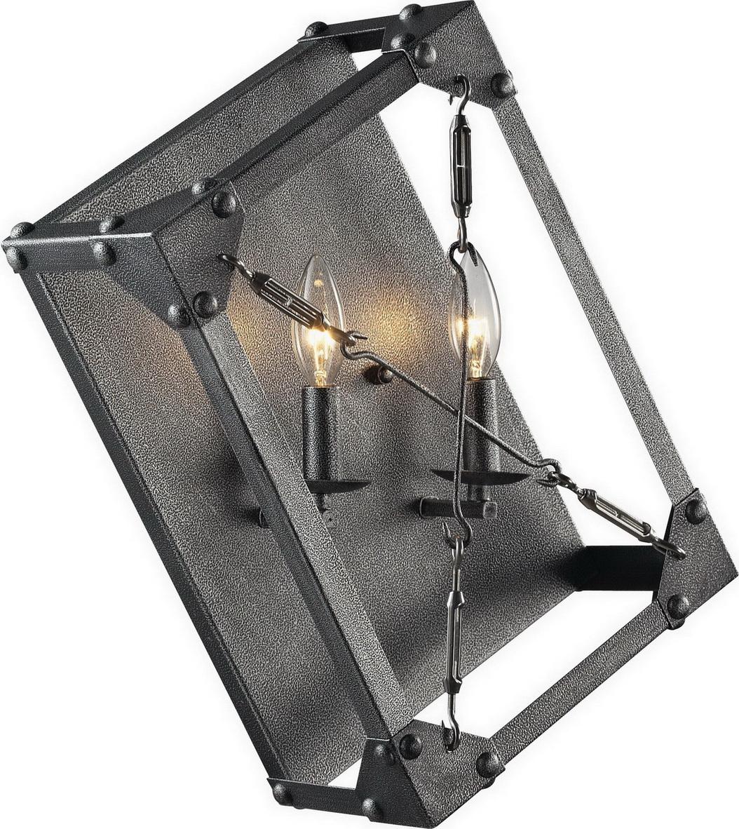Креативный металлический настенный светильник