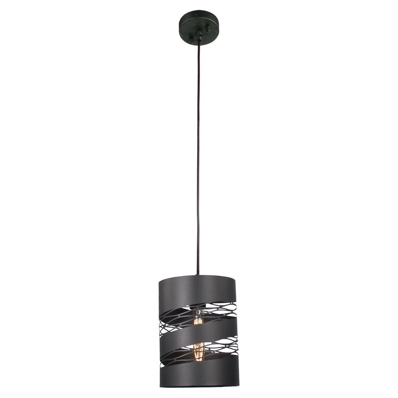 Красивая подвесная лампа в стиле лофт