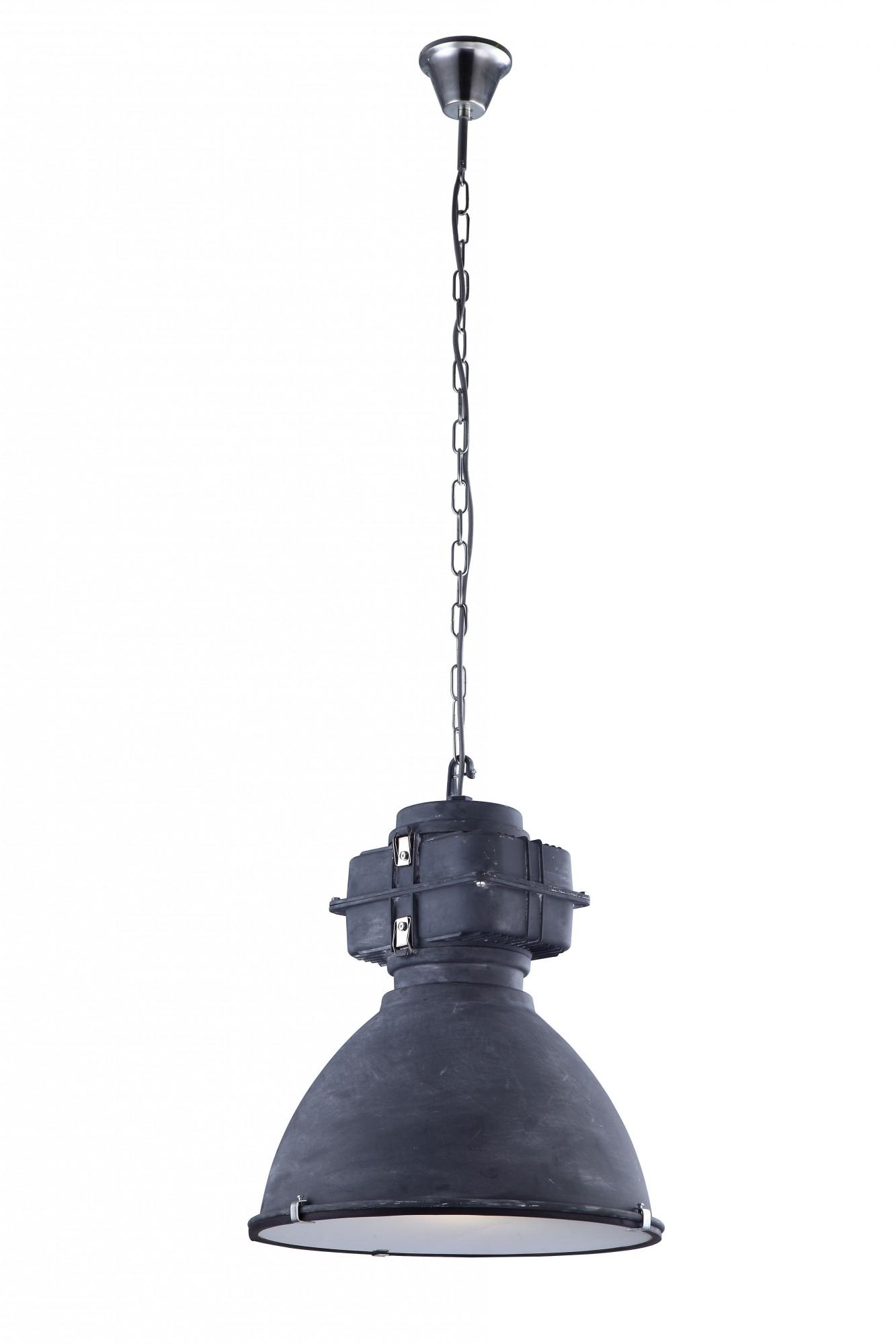 Креативная черная лампа в стиле лофт