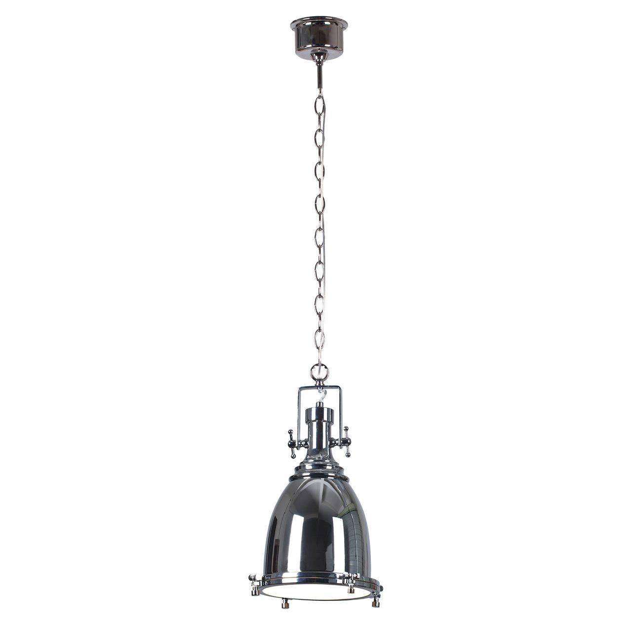 Металлическая подвесная лампа в стиле лофт