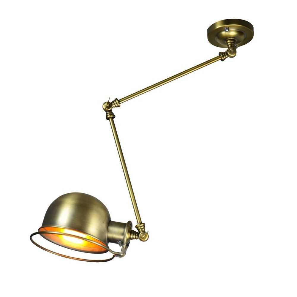 Подвижная лампа в стиле лофт