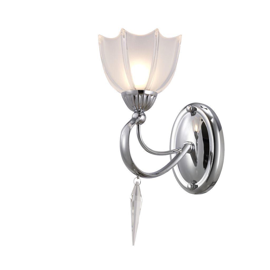 Бра в стиле модерн с абажуром в форме цветка