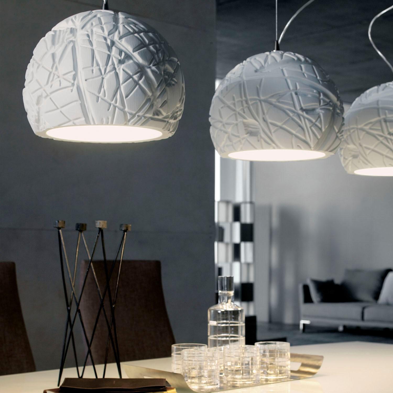 Белые светильники в стиле модерн