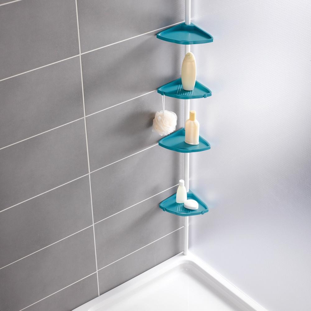 Полки угловые в ванной