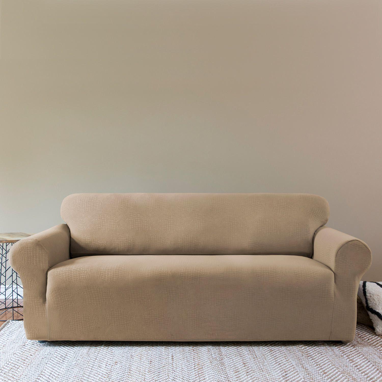 Велюровый чехол на диван