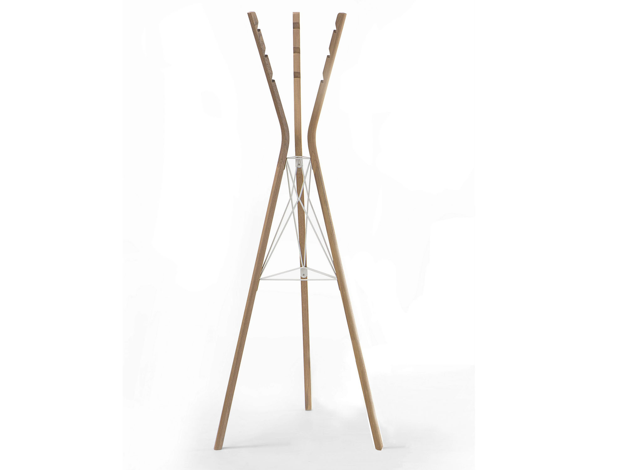 Вешалка-штатив из дерева и металла