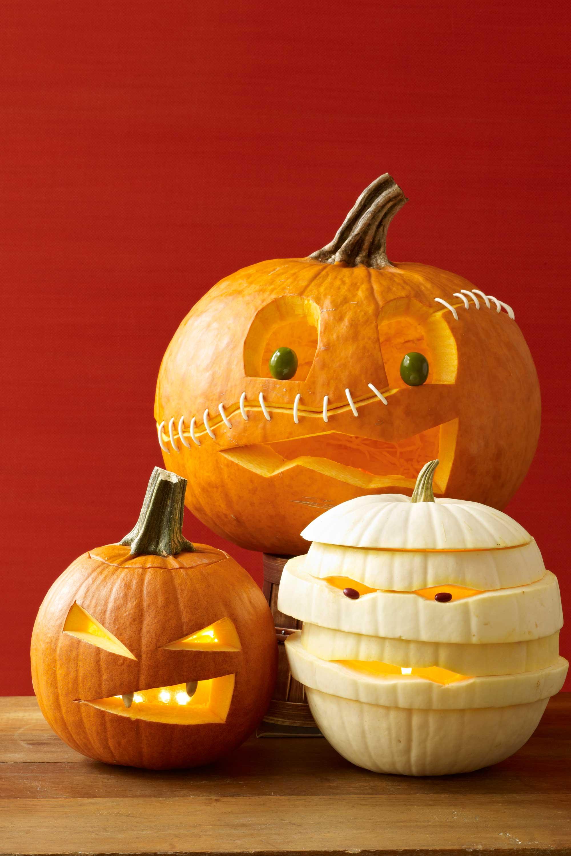 Тыквы на хэллоуин вырезание