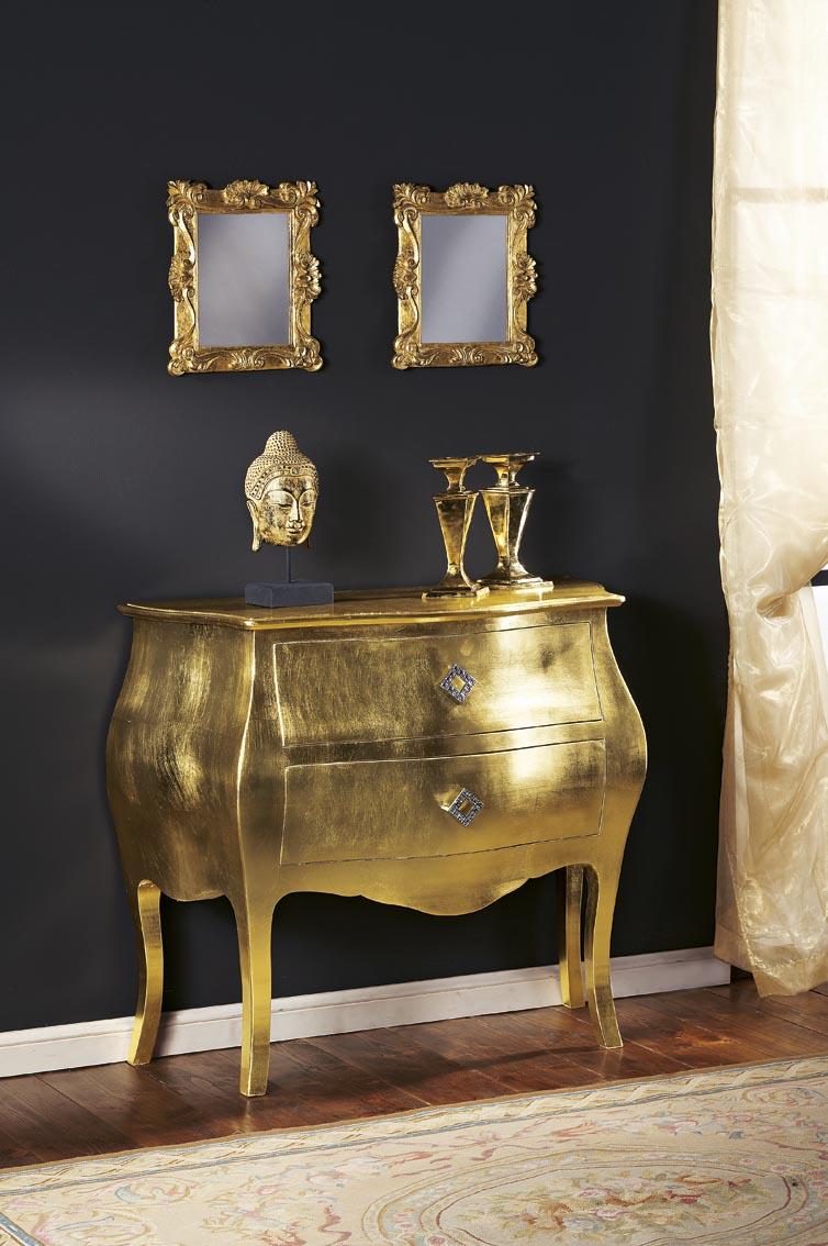 Золотая мебель в неоклассическом стиле