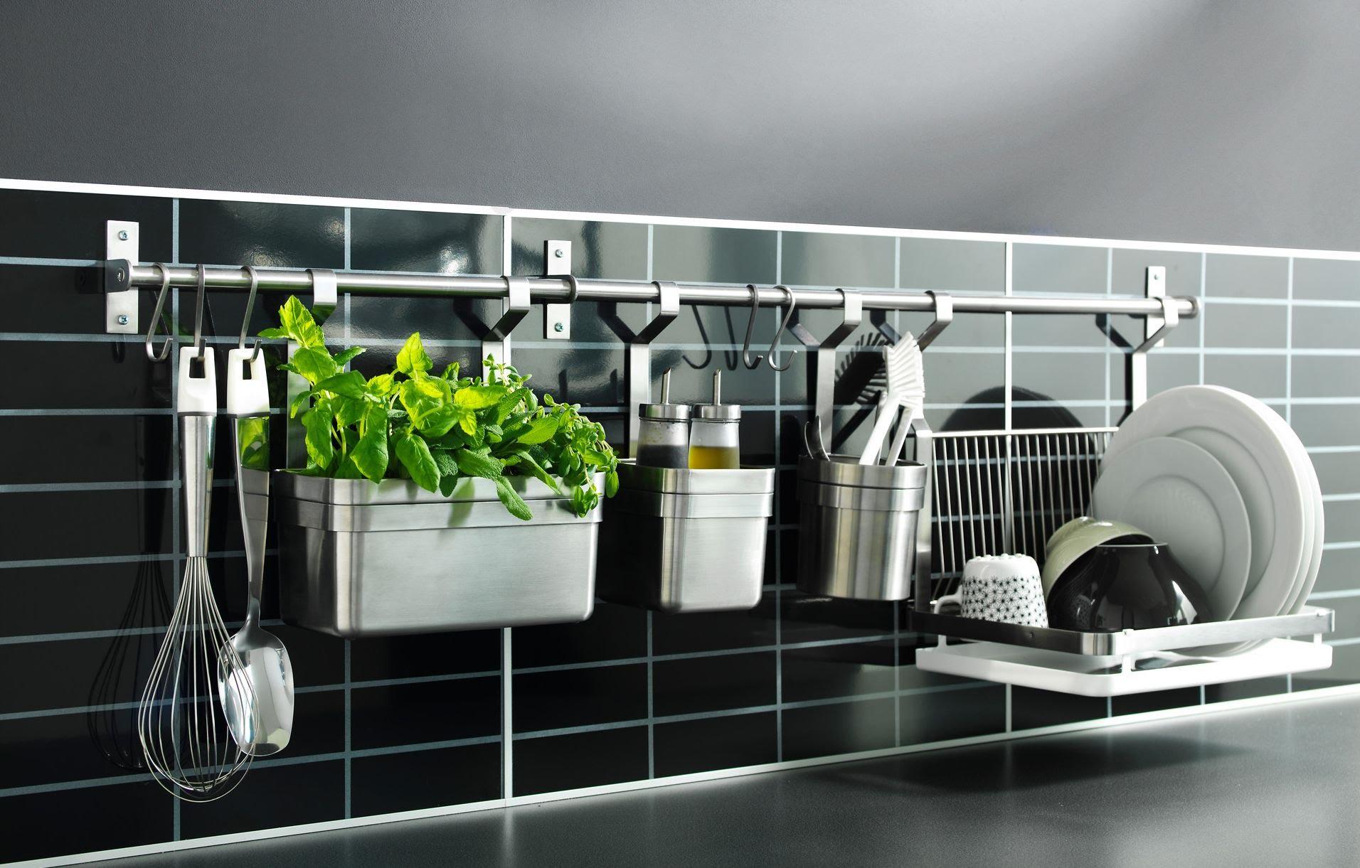 Удобная система хранения на кухне