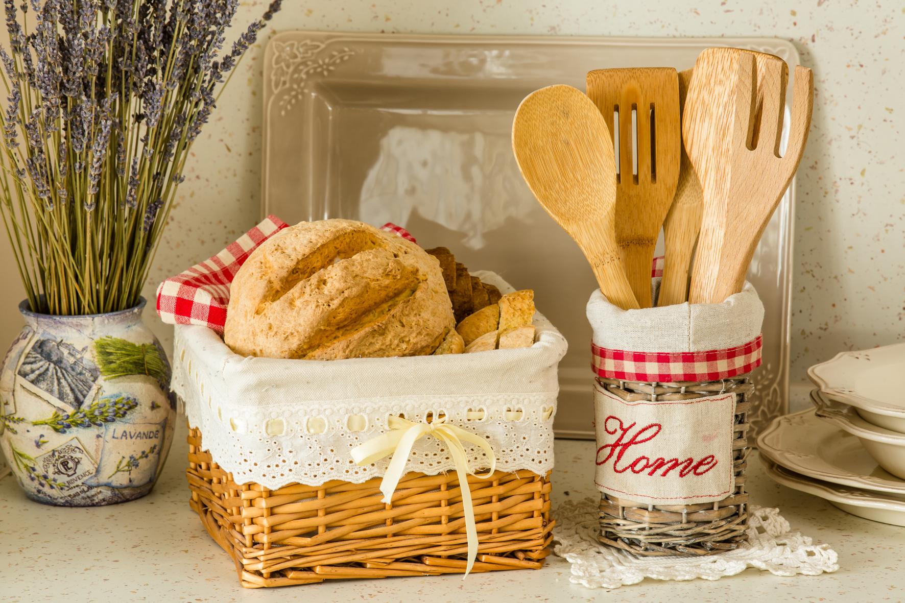 Украшения для кухни в стиле прованс