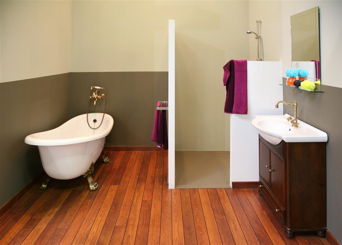 Алкидная краска для стен в ванной