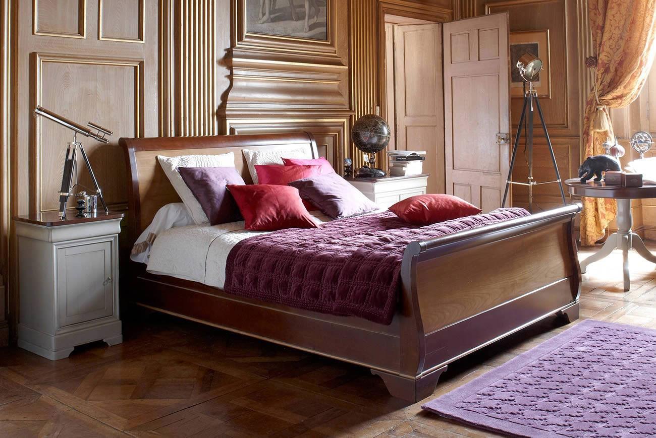 Спальня 14 кв.м. в классическим английском стиле