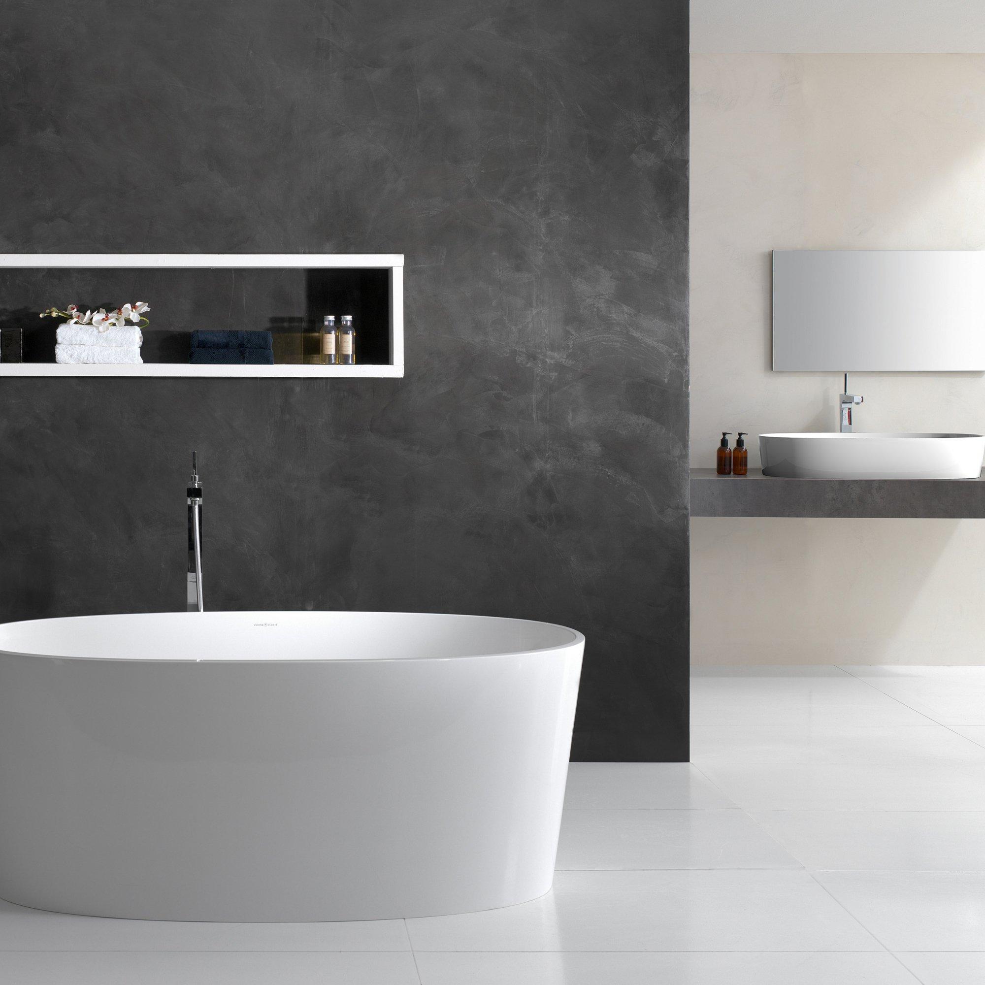 Декоративная краска для стен ванной