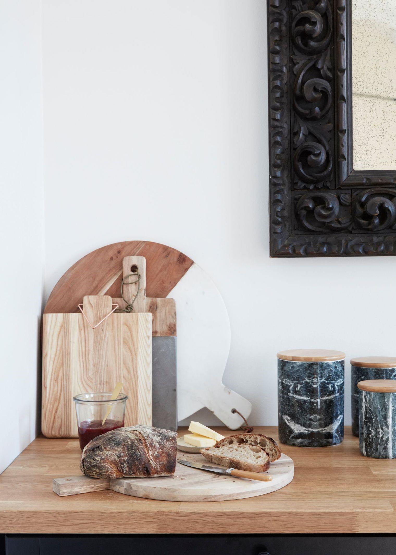 Аксессуары для кухни из дерева