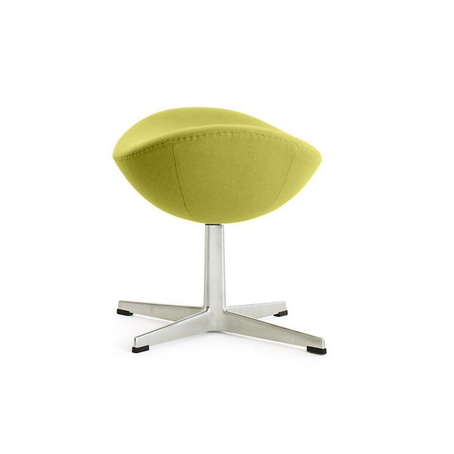Зеленая современная оттоманка для сидения