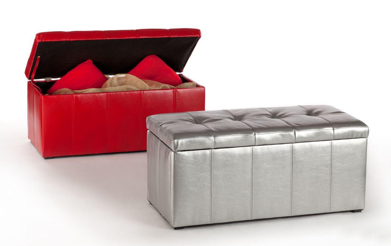 Пуфы с ящиками для хранения