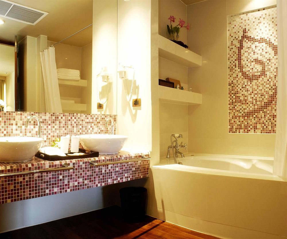 Мозаика в дизайне ванной комнаты 7 кв. м