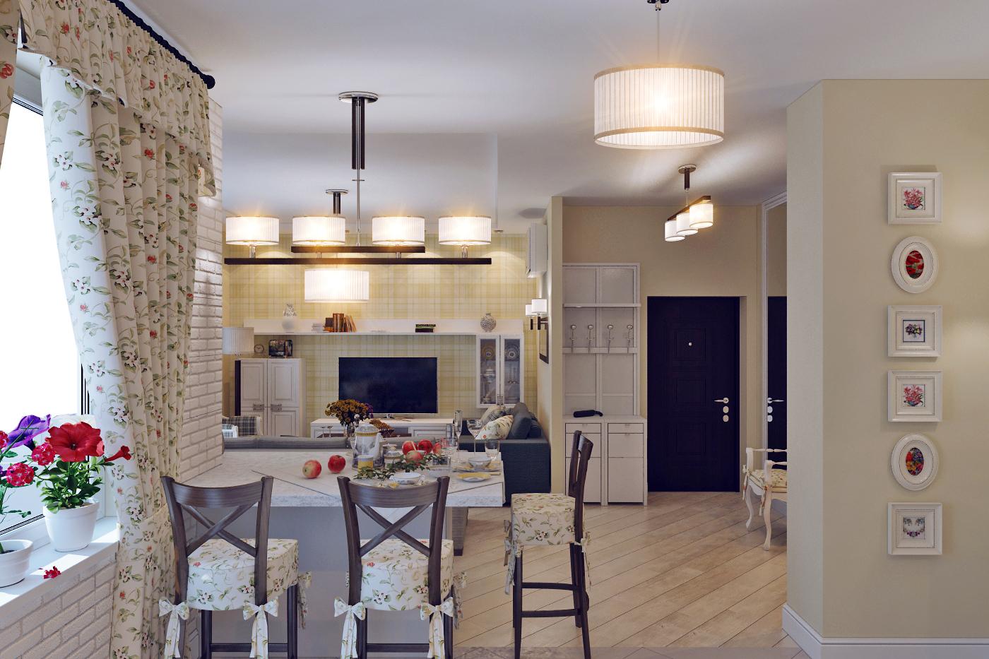 Кухня-гостиная в квартире