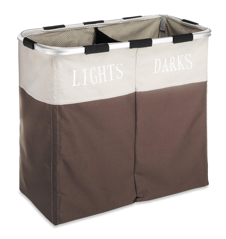 Тканевая корзина для белья в ванную