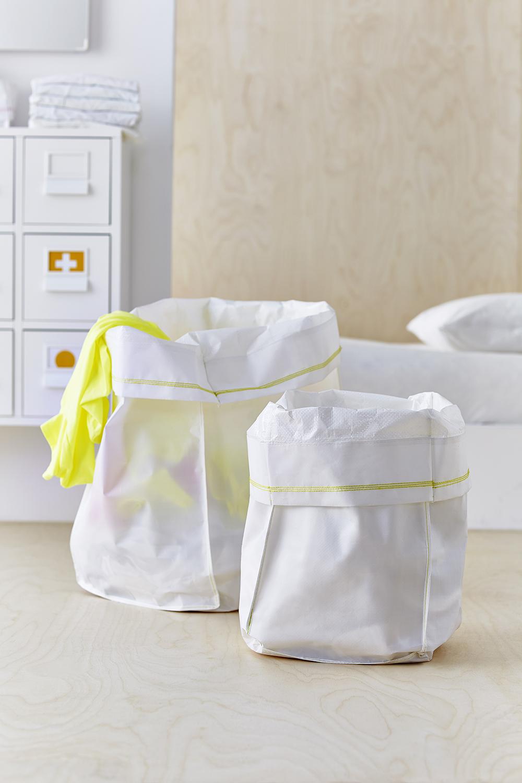 Мешок для белья в ванной