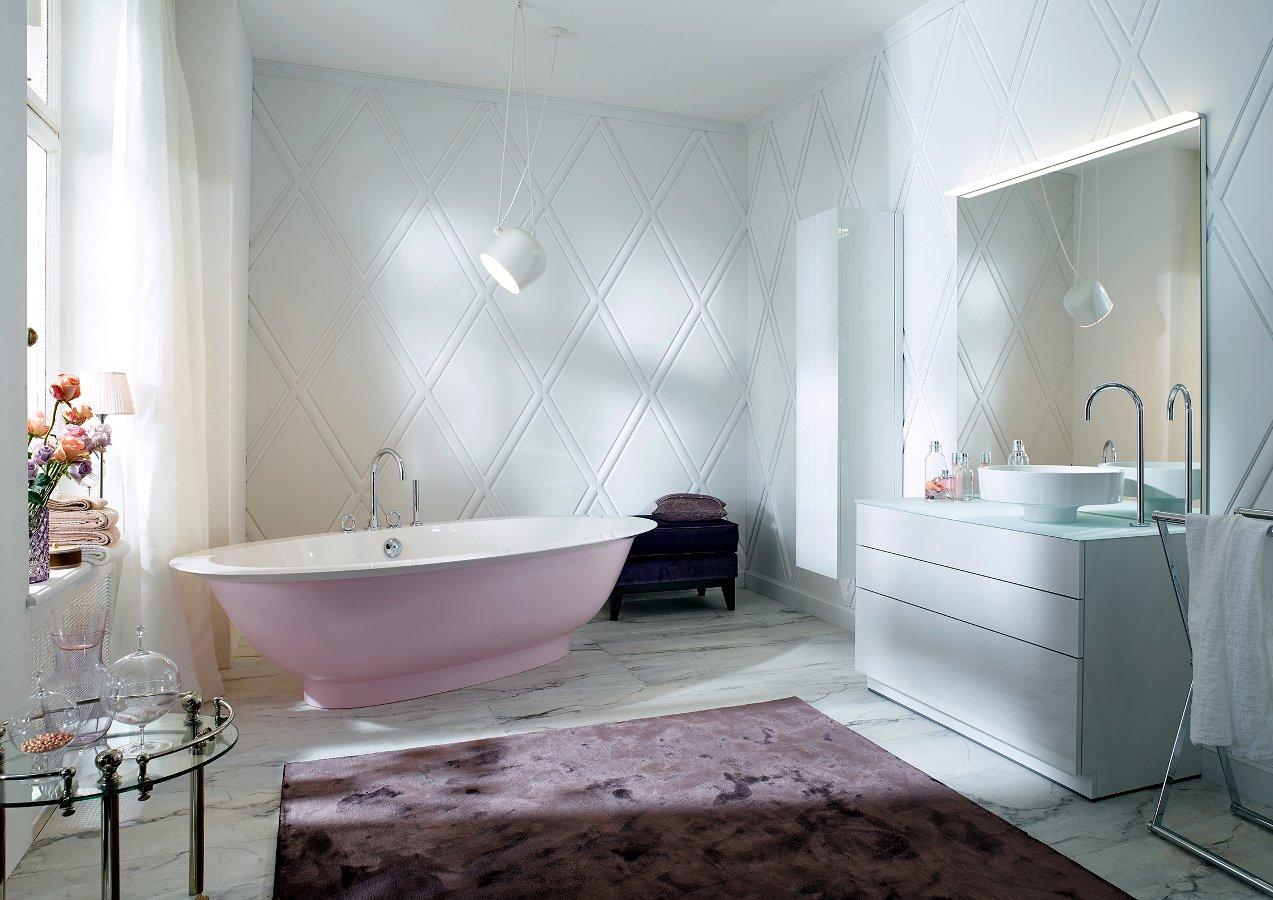 Ванная без унитаза в стиле модерн