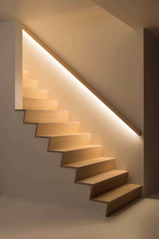 Перила для лестницы с подсветкой
