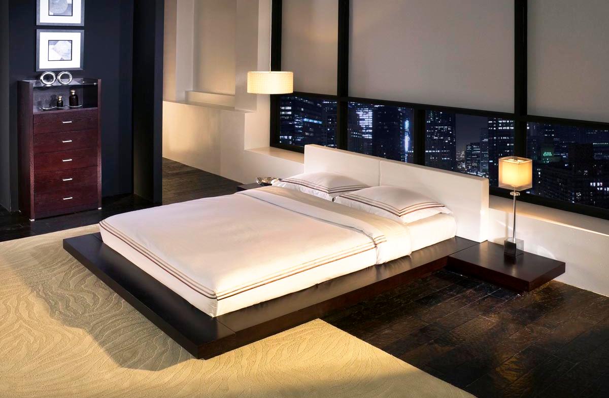 Современная подвесная кровать