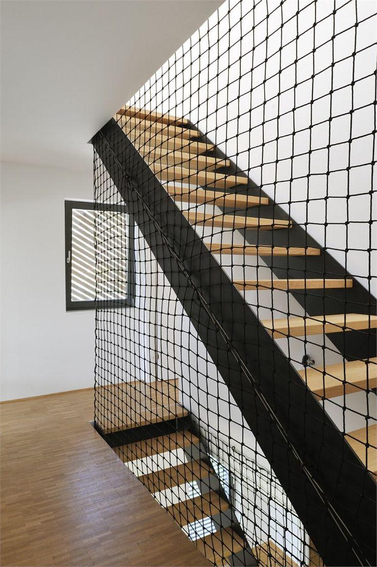 Сетка перила для лестницы