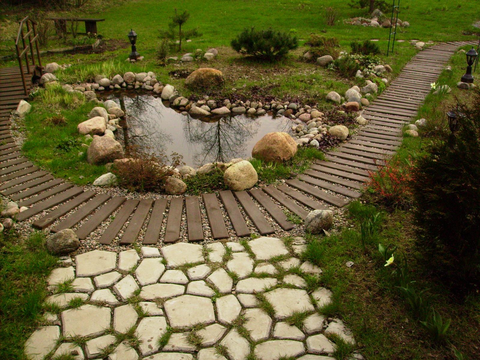 Скандинавский стиль в ландшафтном дизайне