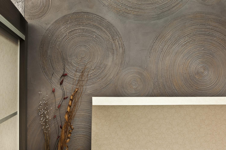 Необычная шпатлевка стен