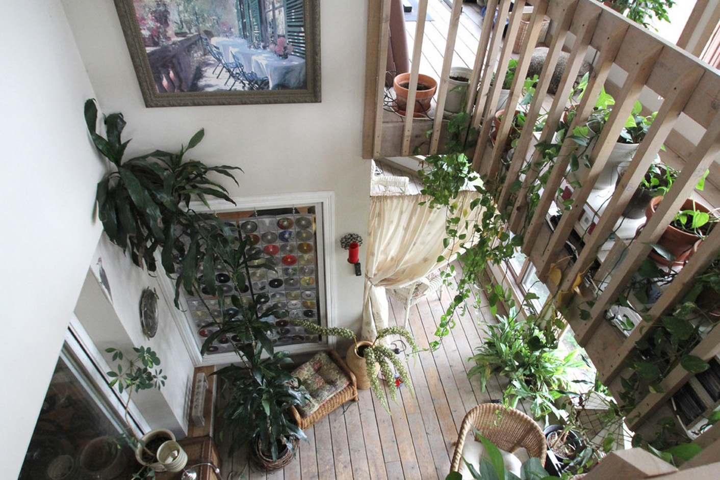 Зимний сад в двухэтажном доме