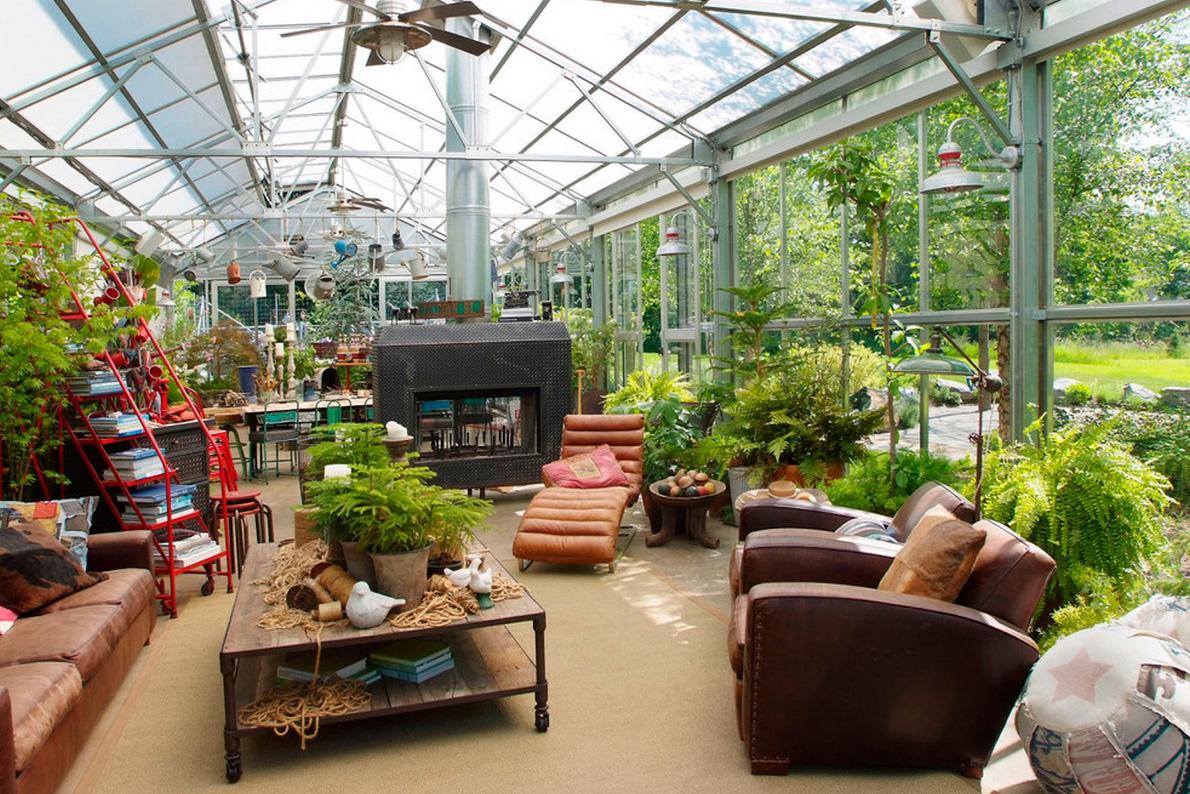 Дом-зимний сад