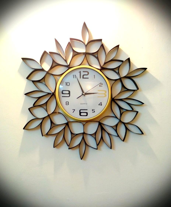Декор часов в интерьере